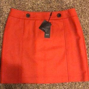 Esprit orange A-line Skirt